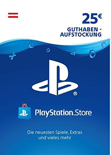 PSN Guthaben-Aufstockung   25 EUR   österreichisches Konto   PS5/PS4/PS3 Download Code