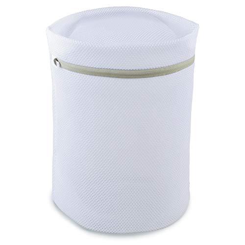 ダイヤ ランドリーネット ホワイト マチ約20x35x35�p ダイヤ ドラム式専用ネット 057055