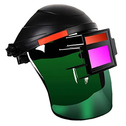 Odoukey Casco de Soldadura de Soldadura Casco Careta Head Mounted Ojo de Seguridad de protección de Plasma Trabajo al Arco de argón Equipo Soldador