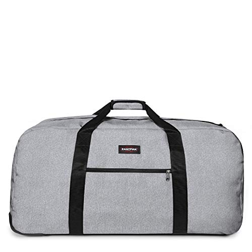 Eastpak Warehouse + Bolsa de Viaje, 81 cm, 135 Liters, Gris (Sunday Grey)