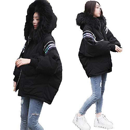 ZWHDS Dames effen kleur donsjack vest met capuchon rits winter lange mouw lange zak geheugen stof mantel Outdoor winddichte warme jas
