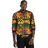 ELISCO Men's Outdoor Jacket African Print...