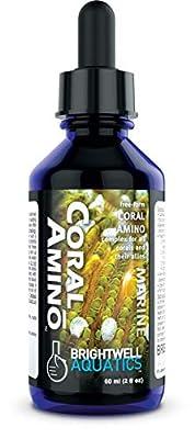 Brightwell Aquatics CoralAmino - Amino Acid Complex for Coral Coloration & Growth, 60 ml