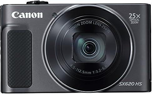 Canon PowerShot SX620 HS - Cámara digital compacta de 20,2 Mp (pantalla de 3