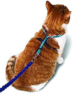 PetSafe Come with Me Kitty Glitter Harness and Bungee Cat Leash