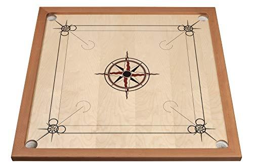 Philos 8210 - Carrom standard, schwarz-rot, Geschicklichkeitsspiel