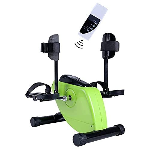 Cushion Ejercitador De Pedal Eléctrico Médico, para Ejercicios De Recuperación De Piernas, Brazos Y Rodillas, Bicicleta De Ejercicios Y Ejercitador De Pedales para Discapacitados Y Ancianos