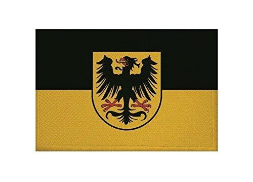 U24 Aufnäher Arnstadt Fahne Flagge Aufbügler Patch 9 x 6 cm