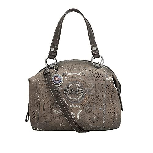Anekke   Bonito bolso tipo bowling Rune   Moderno, Casual y a la Moda   Para Mujeres   Ideal para el Día a Día u Ocasiones Especiales