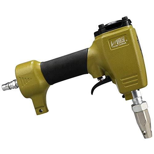 isunking Punzonatrice Pneumatica, Perforatrice Pneumatica BM-DK9 per Punzonatrice per Fori in Tessuto di Cuoio (4mm)