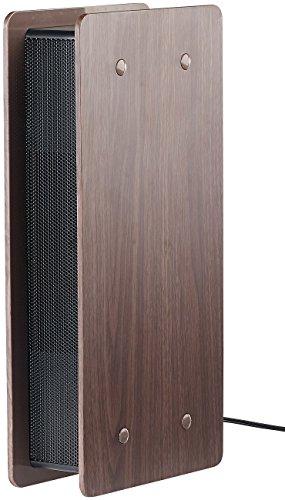 newgen medicals Luftwäscher: Luftreiniger mit Ionisator und zuschaltbarem Lüfter, dunkle Holz-Optik (Luftreiniger Ionisator ohne Ozon)