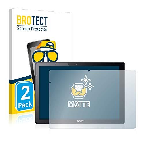BROTECT 2X Entspiegelungs-Schutzfolie kompatibel mit Acer Switch Alpha 12 Bildschirmschutz-Folie Matt, Anti-Reflex, Anti-Fingerprint