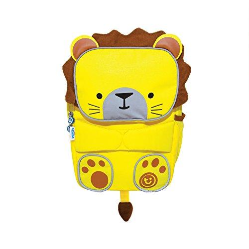 Trunki Kleinkindrucksack & Kindergartentasche - gut sichtbar - Leeroy (gelb)