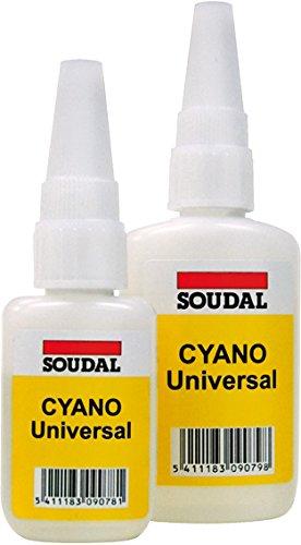 Soudal 33007142/127374 - Adhes Inst.Cyano Univ.20Gr 007142/127374