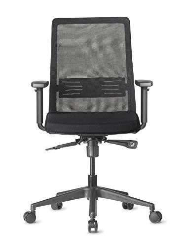 AMQ BODI Ergonomic Office Chair, Black