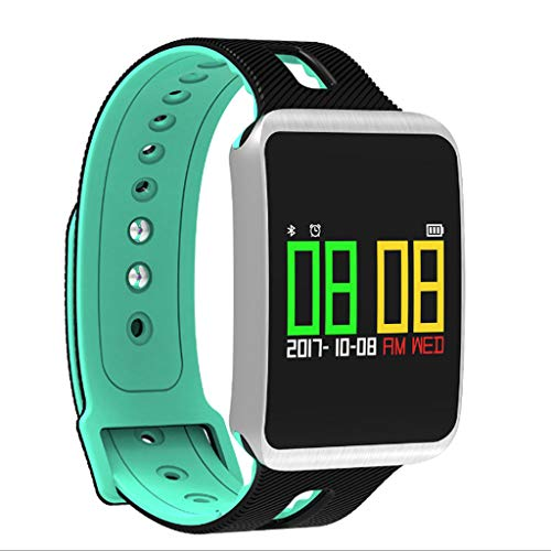 For Sale! DSWDA Smart Watch Blood Pressure Color Waterproof Sports Bracelet Swimming Health Blood Pr...