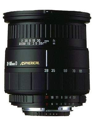Sigma 28-105/2,8-4 IF aspherical Objektiv für Minolta/Sony