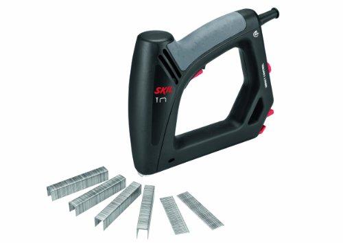Skil 8200 AA Elektrotacker (mit Softgrip und Schlagkraftregulierung; Kapazität: 100 Klammern, 80 Nägel) F0158200AA