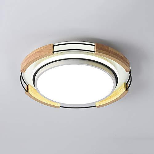 24W LED Plafón Moderno Ronda Luz de techo Regulable Interruptor pared Acrílico...
