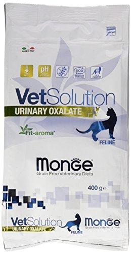 Monge Vetsolution Cat Food Veterinary Solution Gatto Urinary Oxalate GR. 400 Cibo Gatti, Multicolore, Unica