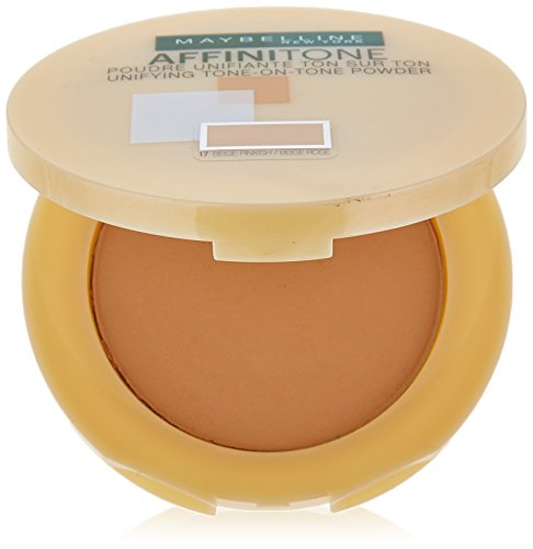 Maybelline New York Affinitone Poudre Compacte 17 Rose Beige
