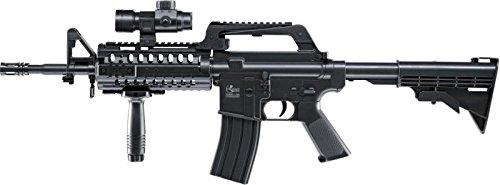 Softair Gewehr Model 4 RIS Commando, Federdruck