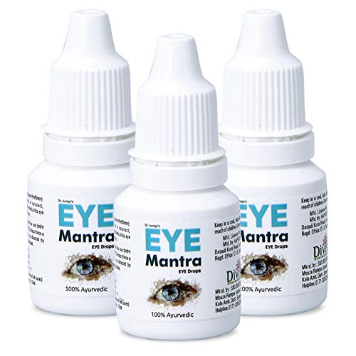 Eye Mantra Dr Juneja's Eye Mantra Ayurvedic Eye Drops 10ml, Pack of 3