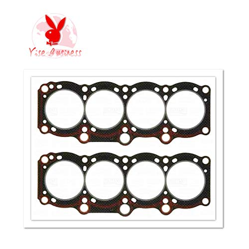 yise-P643 New 2pcs 3SGE 3S-GE For TOYOTA ST182 16V (DOHC) Cylinder Head Gasket Engine Parts Engine Gasket 11115-74090 10081600 11115-88380 11115-88381 11115-88382 CH8357 414600P 540.530 HG1215 HG12