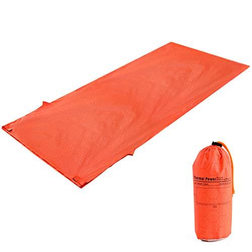 寝袋 シュラフ ( コンパクト タイプ ) 登山用 ねぶくろ 【実重量120gの超軽量タイプ!(収納袋付き)】 寝袋シュラフ シェラフ 寝袋・シュラフ 【 インナーシーツ や シュラフカバー としても使用可能】 エマージェンシーシート 『 キャンプ 登山