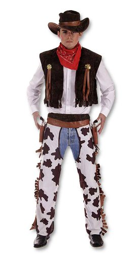 Men's Cowboy Fancy Dress Costume by Henbrandt