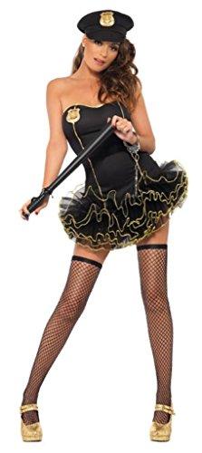 Smiffy's - 353758 - Costumi Da Polizia - Tutu