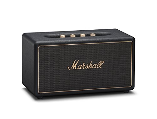 Marshall Stanmore Multi-Room Wi-Fi and Bluetooth Speaker, Black