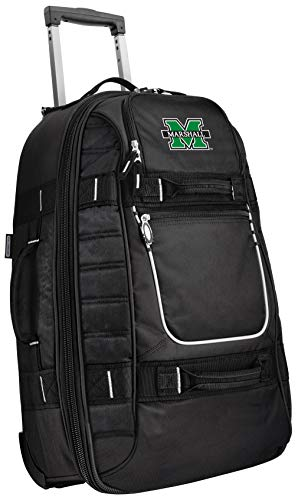 Small Marshall University Carry-On Bag Wheeled Suitcase Luggage Bags