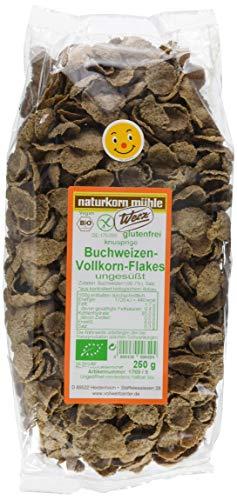 Glutenfreies Getreide: Buchweizen Flakes Bio, 5er Pack (5x 250g)