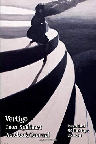 Vertigo - Léon Spilliaert - Notebook/Journal: Journal Ruled - 200 Blank Pages - 6x9 Inches