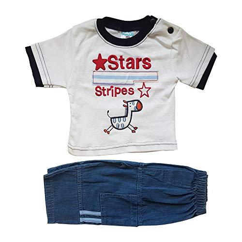 Just Character Ensemble de 2 pièces en jean pour bébé garçon de 0 à 9 mois - - 3-6 mois