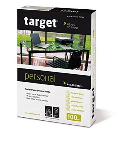 Target Personal Kopierpapier 100g/m² DIN-A4 2.500 Blatt Druckerpapier weiß