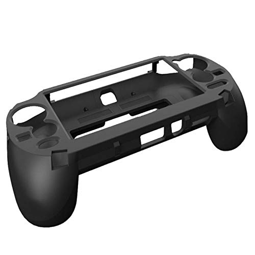 L2 R2 Trigger Hand Grip Shell Controller Protective Case for Sony Playstation PS Vita 1000 (Black)