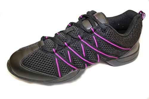 Bloch Criss Cross, Jazz-Schuhe Mädchen, Schwarz - schwarz - Größe: 38