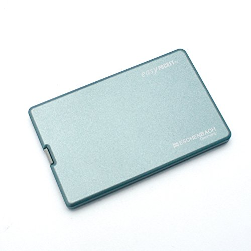 ESCHENBACH Scheckkartenlupe easyPocket silberblau 4X