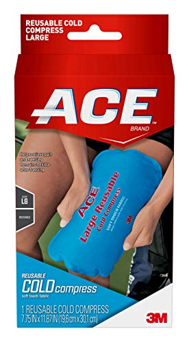 ACE Reusable Cold Compress, Large, Helps Relieve Pain caused by Sprains and Muscle Aches, Money Back...