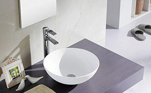 Lavabo bathco sobre encimera Sicilia 400 x 150 mm