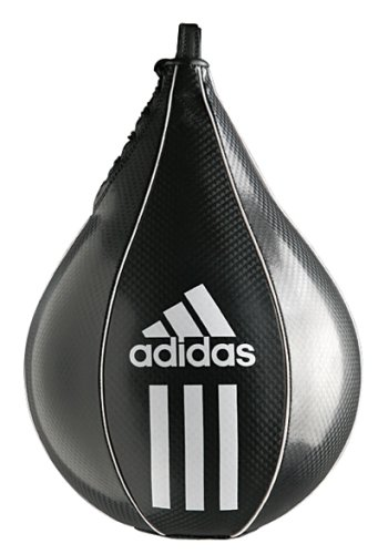 adidas Pera de Boxeo Speed Striking Ball, Negro 25 x 17 cm, ADIBAC09-2517