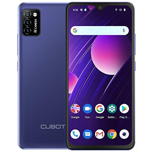CUBOT Smartphone sin contrato, 5.5 ¨ 4G teléfono celular, Quad Core, Android 10, Dual SIM. Azul