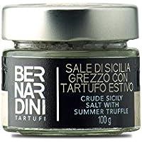 Sal con trufa negra Sal marina de Sicilia con trufa negra de verano (Tuber aestivum Vitt.) 100g - Bernardini Tartufi