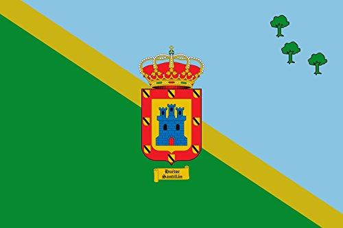 magFlags Bandera Large Huétor Santillán, Granada, España | Bandera Paisaje | 1.35m² | 90x150cm