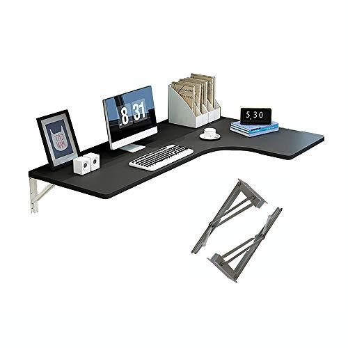 Eckklappbarer Computertisch, Wand-Esstisch Mit Kleinem Raum, Computertisch, Beistelltisch Mit Doppelter Unterstützung