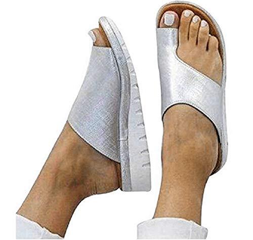 Sfit Damen Sommer Plattform Sandalen Clogs Sandalen Peep-Toe Schuhe High Heels Plateau Wedge Bequeme Sommerschuhe Offen Strandschuhe Hauschuhe