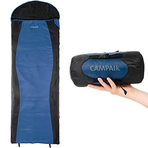 CampAir Ultra Lite Deckenschlafsack - extrem Leichter Frühjahr-/Sommerschlafsack - kleines Packmaß, Ripstop-Gewebe