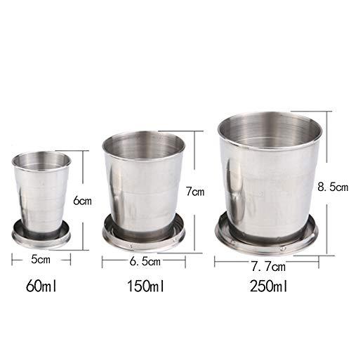 Ansley&HosHo『折りたたみステンレスカップ』